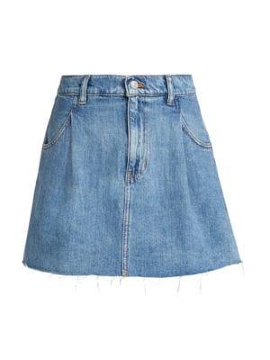 Cosmico Denim Mini Skirt