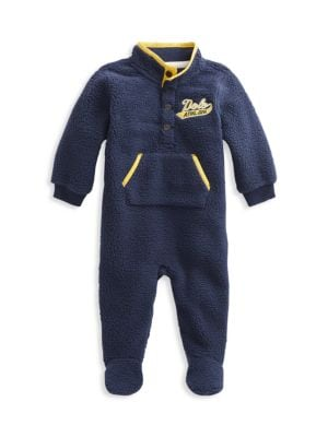 Baby Boy's Vintage-Inspired Coverall