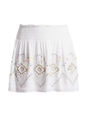 Kenny Eyelet Skirt