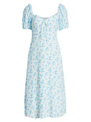 Juniper Floral Midi Dress