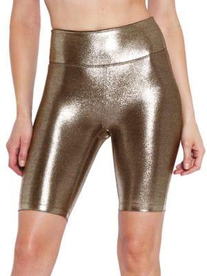 Marvel Metallic Biker Shorts