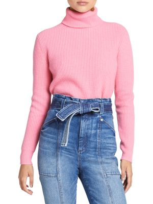 Mitchell Ribbed Turtleneck Sweater