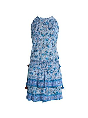 Amora Sleeveless Floral Dress