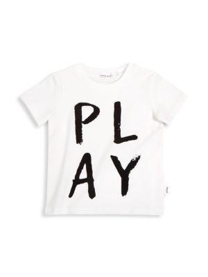 Baby's & Little Kid's Play Graphic T-Shirt