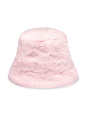 Charlie Faux-Fur Bucket Hat