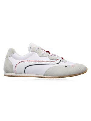 2 Moncler 1952 Seventry Vintage Leather Sneakers