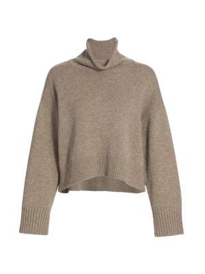 Stintino Funnelneck Wool & Cashmere Knit Sweater