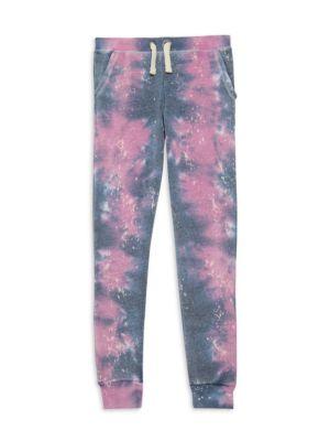 Girl's Galaxy Tie-Dye Joggers