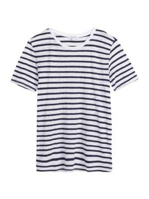Zoe Striped Crewneck T-Shirt