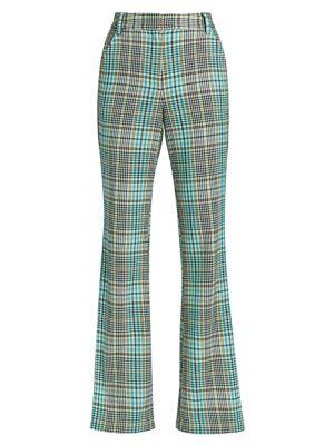 Fallon Plaid Pants