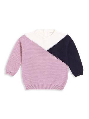 Little Girl's Colorblock Knit Sweater