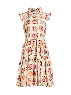 Short And Sassy Flared Dress