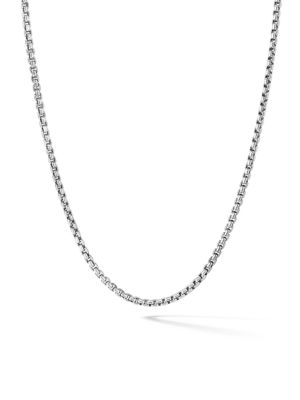 Small Box Chain Necklace/36