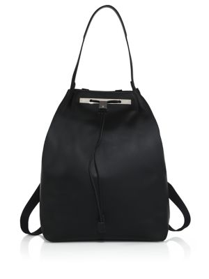 the row female 188971 smooth leather backpack 11