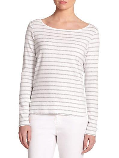 Organic Cotton Striped Top