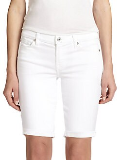 7 For All Mankind - Rolled Shorts
