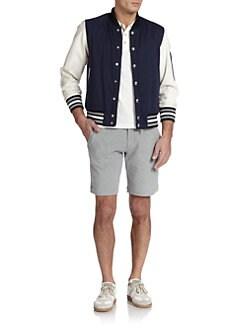 Moncler - Blier Banded Varsity Jacket