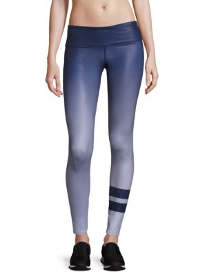 Airbrush Print Yoga Pants plus size,  plus size fashion plus size appare