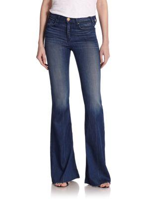 Majorelle High-Waist Flared Jeans