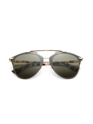 Reflected 52MM Modified Pantos Sunglasses