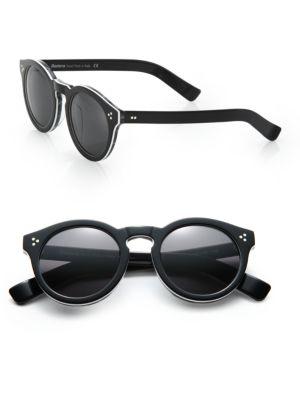Leonard II 53MM Round Sunglasses