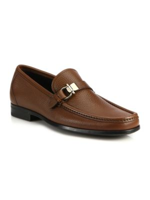 Muller Bit Leather Loafers