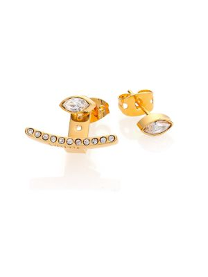 Asteria Marquise Crystal Ear Jacket & Stud Earrings Set from Saks Fifth Avenue