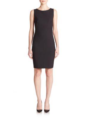Betty Edition Stretch Wool Sleeveless Dress