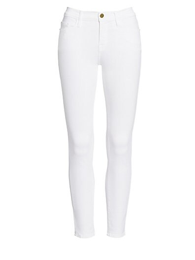Le Color Cropped Skinny Jeans