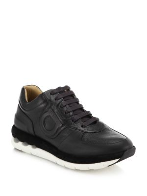 Morgan Leather Sneakers