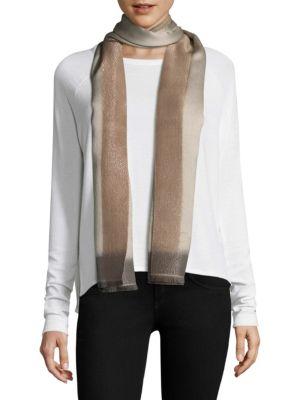 BAJRA Frame Silk & Cashmere Scarf