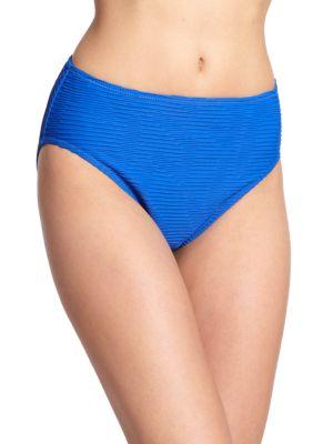 Textured Tankini Bottom plus size,  plus size fashion plus size appare