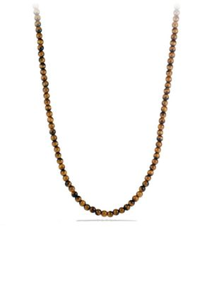 Spiritual Bead Tiger's Eye Necklace