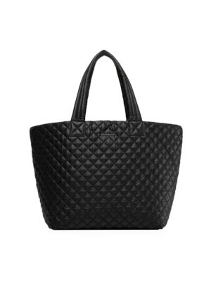 Metro Large Quilted Nylon Tote
