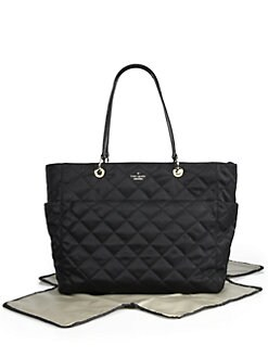 Kate Spade New York - Diamond Quilted Satin Baby Bag
