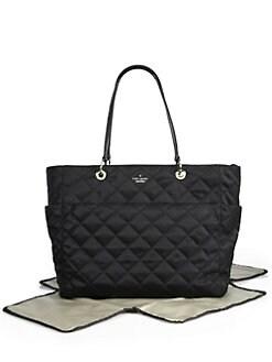 Kate Spade New York - Diamond Quilted Satin Baby Bag