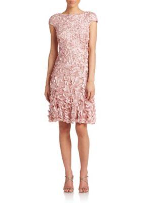 Beaded Petal Dress