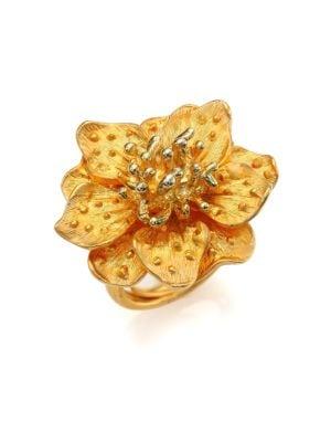 Anemone Flower Ring