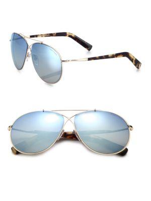 Eva 61MM Aviator Sunglasses