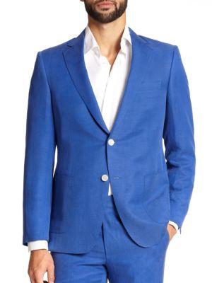 Samuelsohn Silk & Linen Sportcoat