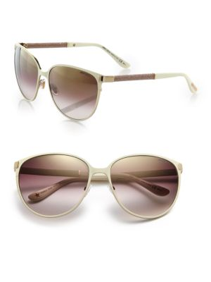 Posie 60MM Round Sunglasses