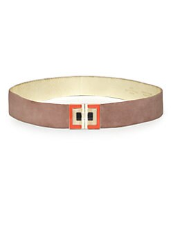 Etro Suede Buckle Belt
