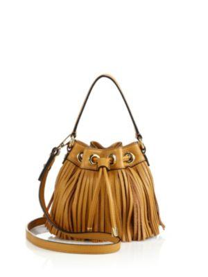 Essex Fringe Small Drawstring Bag