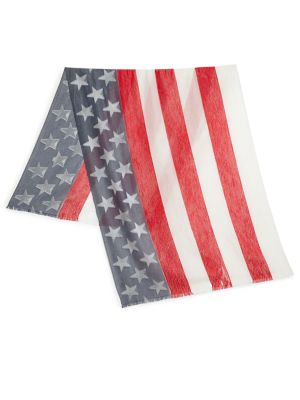 Burnout USA Flag Scarf