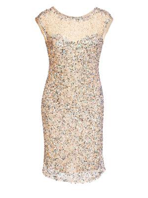 Sequined Bodycon Mini Dress