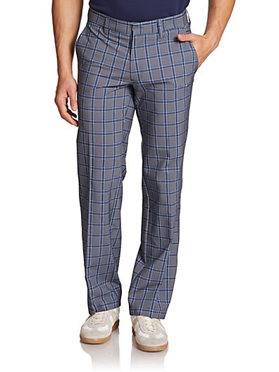 Regular-Fit Golf Pants $92.93 AT vintagedancer.com