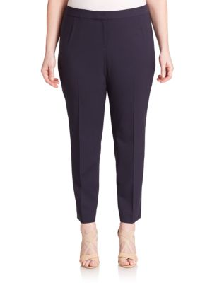 Stretch Cotton Trousers plus size,  plus size fashion plus size appare