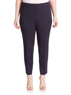 Stretch Cotton Trousers plus size,  plus size fashion plus size appare