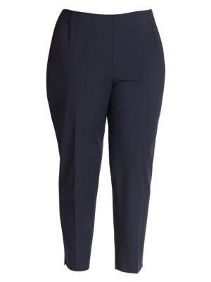Bi-Stretch High-Waist Pants plus size,  plus size fashion plus size appare