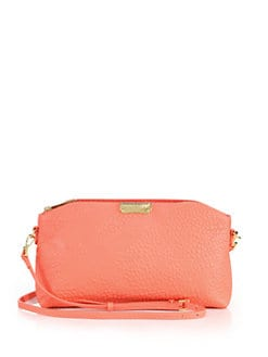 Burberry Chichester House Check-Embossed Pebbled Leather Clutch from ... 9fc56180a1978